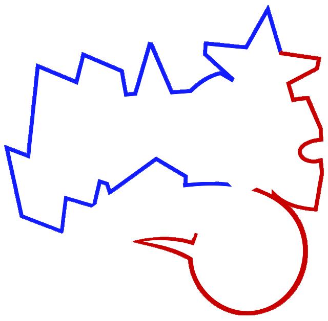Learn easy to draw orlando magic step 03