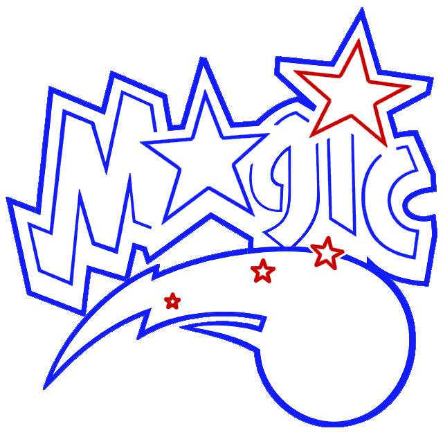 Learn easy to draw orlando magic step 07