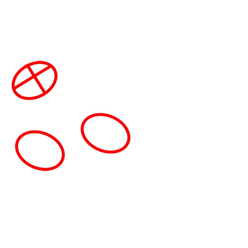 Learn easy to draw pabu step 01