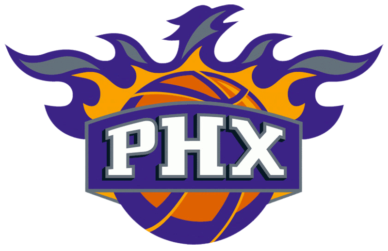 Learn easy to draw phoenix suns step 14
