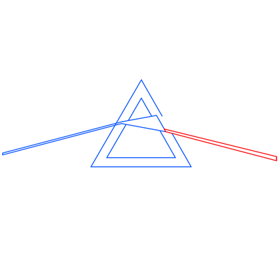 Learn easy to draw pink floyd dark side of the moon step 05