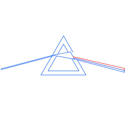 Learn easy to draw pink floyd dark side of the moon step 06