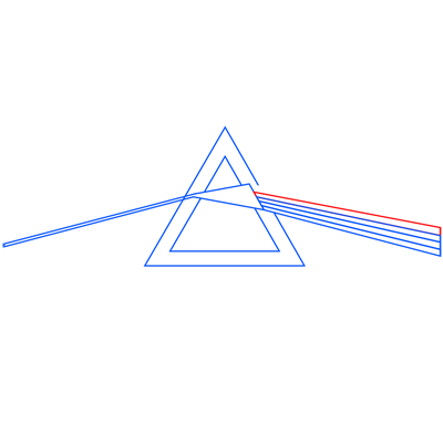 Learn easy to draw pink floyd dark side of the moon step 08