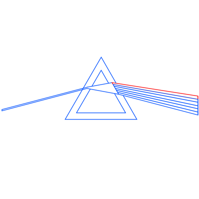 Learn easy to draw pink floyd dark side of the moon step 10
