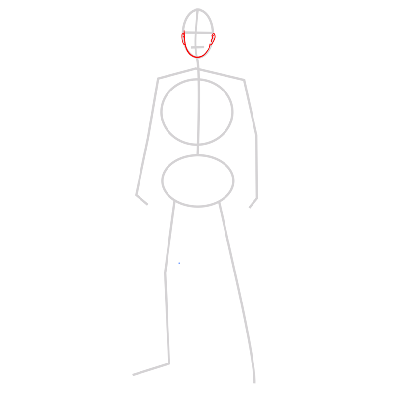 Learn easy to draw reiner braun step 02
