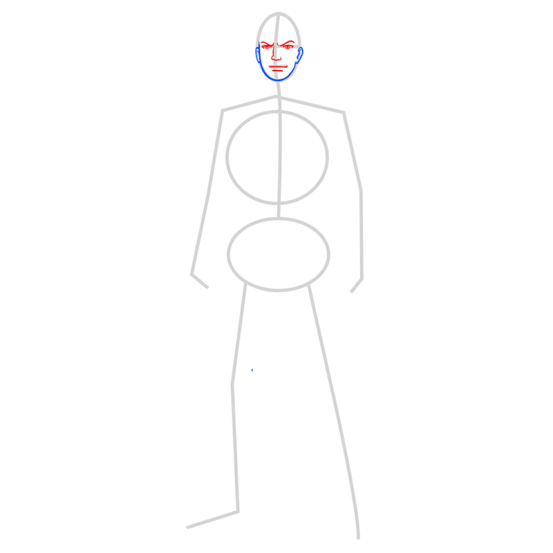 Learn easy to draw reiner braun step 03