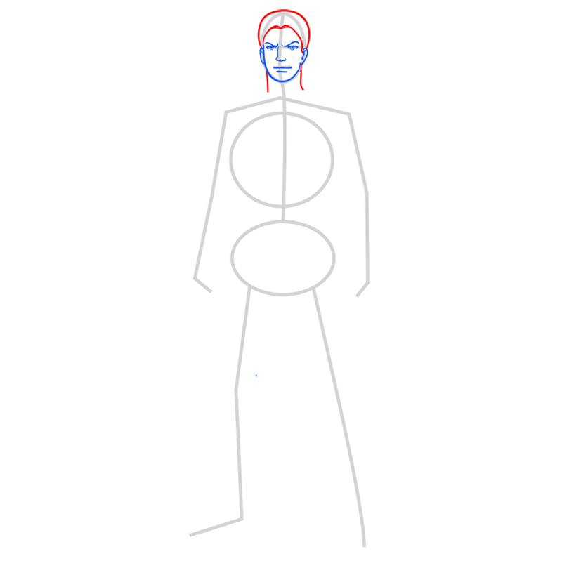 Learn easy to draw reiner braun step 04