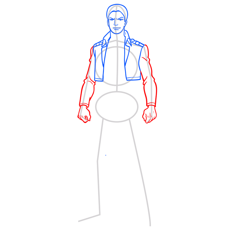 Learn easy to draw reiner braun step 06