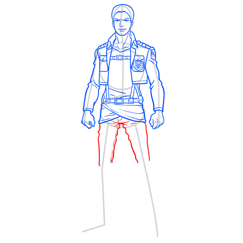Learn easy to draw reiner braun step 09