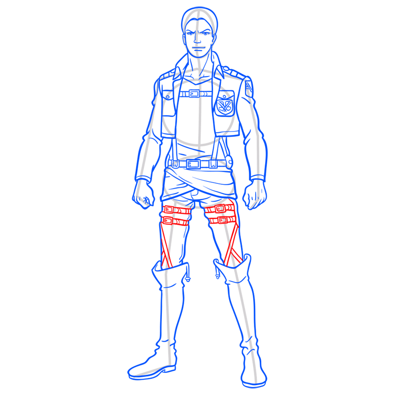 Learn easy to draw reiner braun step 11