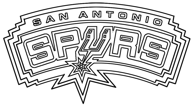 Learn easy to draw san antonio spurs step 00