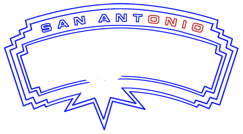 Learn easy to draw san antonio spurs step 09