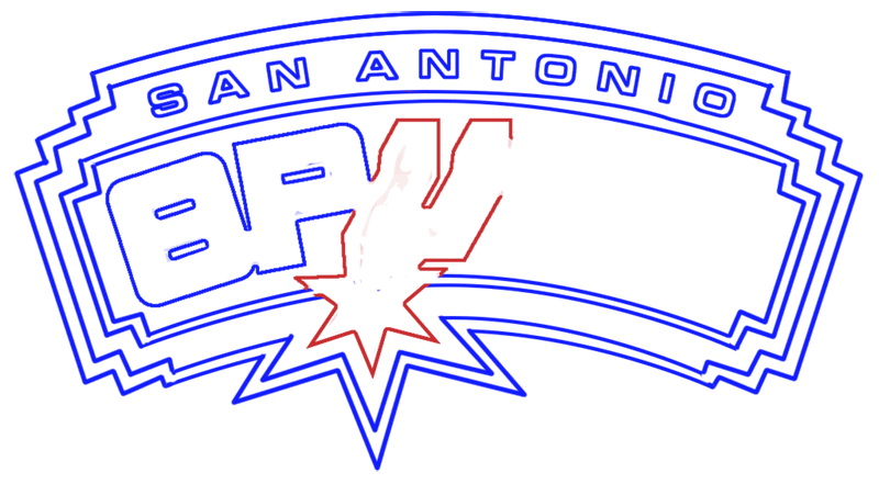 Learn easy to draw san antonio spurs step 11