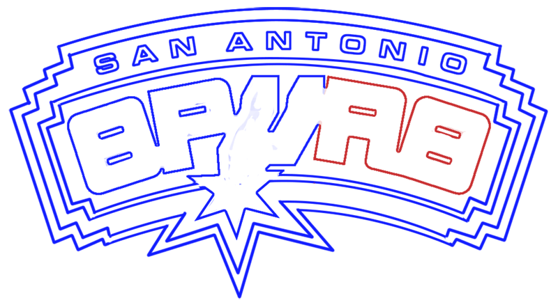Learn easy to draw san antonio spurs step 12
