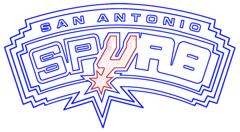 Learn easy to draw san antonio spurs step 14