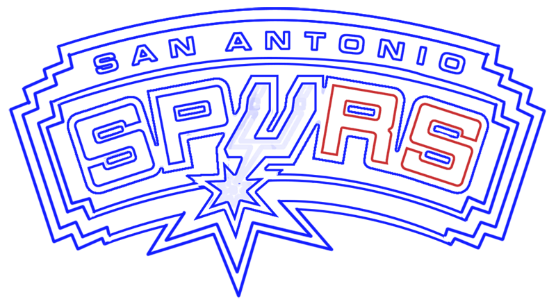 Learn easy to draw san antonio spurs step 15