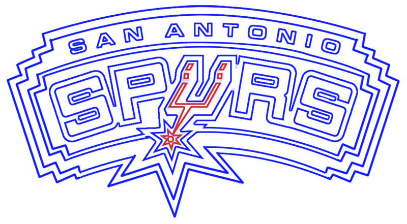 Learn easy to draw san antonio spurs step 16