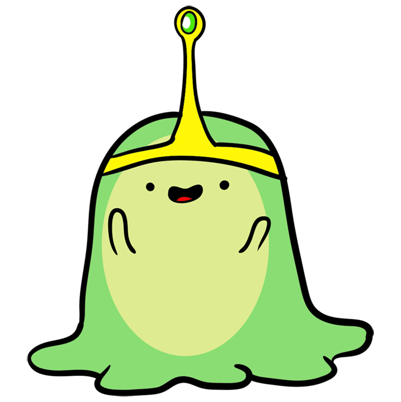 Learn easy to draw slime princess step 07