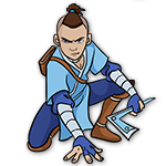 Learn easy to draw sokka icon