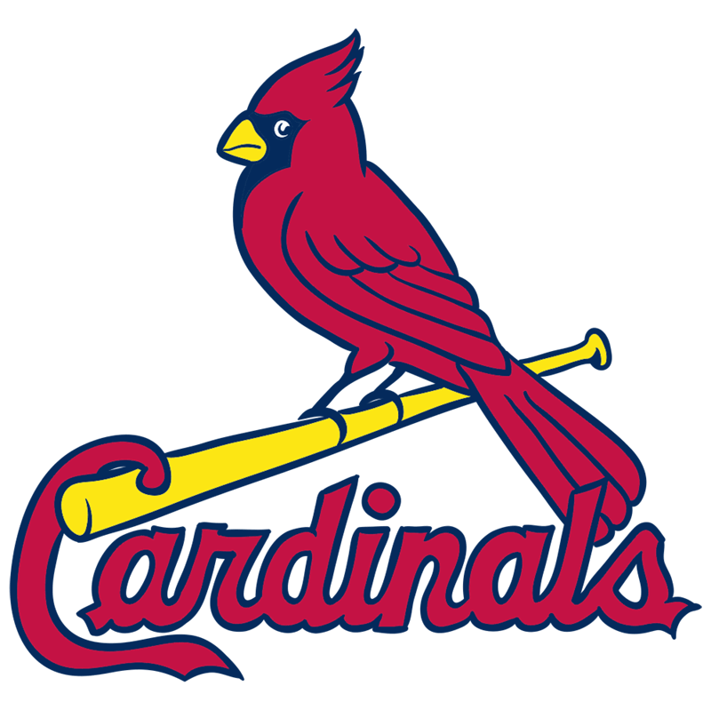Learn easy to draw st. louis cardinals logo step 14