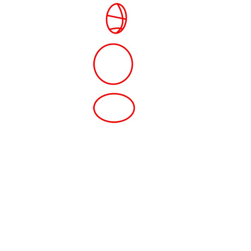 Learn easy to draw tenzin step 01