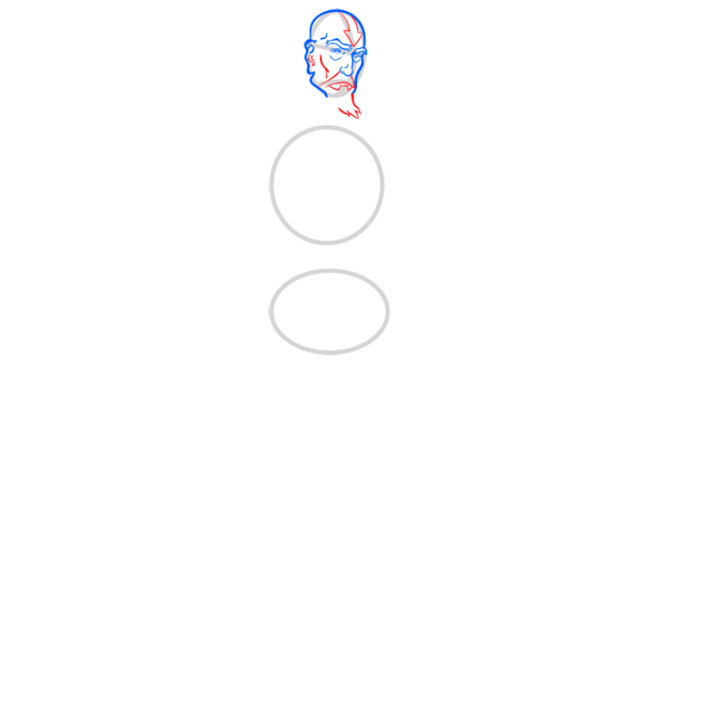 Learn easy to draw tenzin step 04