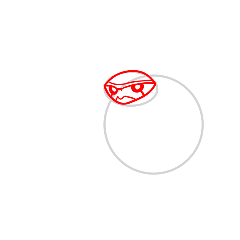 Learn easy to draw terraspin step 02