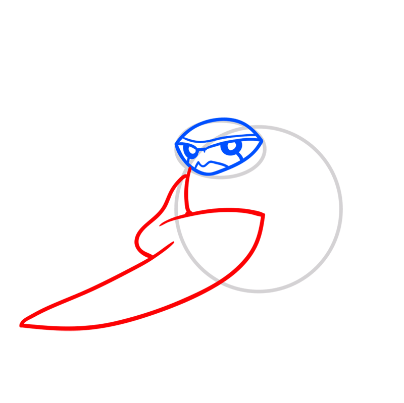 Learn easy to draw terraspin step 03