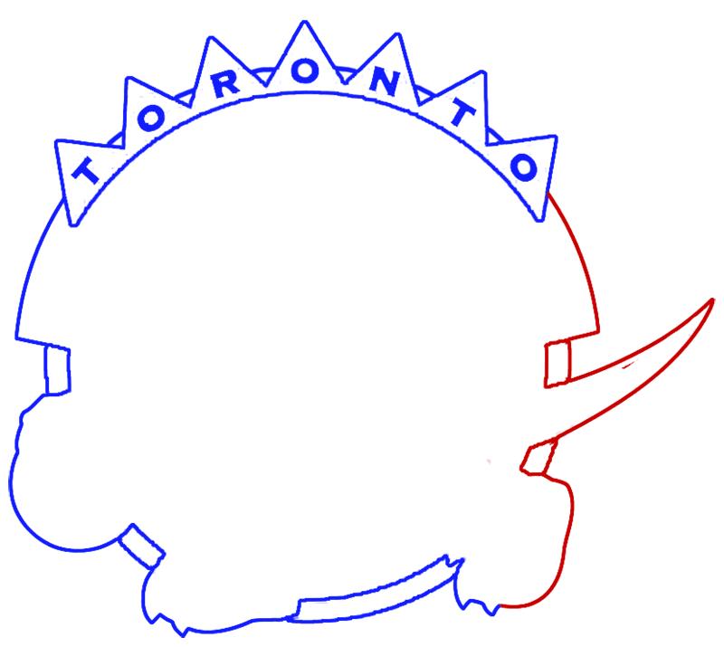 Learn easy to draw toronto raptors step 06