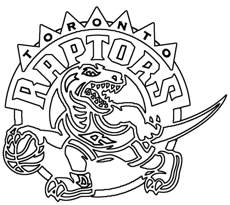 Learn easy to draw toronto raptors step 19