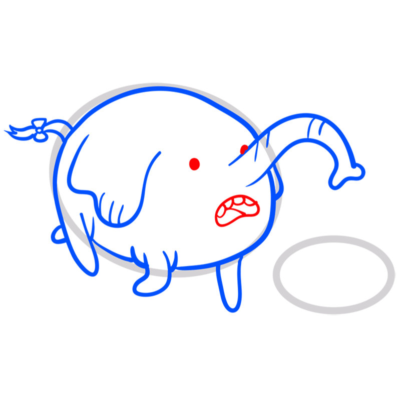 Learn easy to draw tree trunks step 07