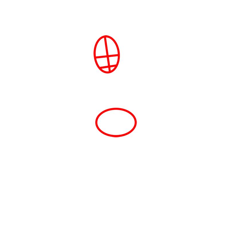 Learn easy to draw zuko step 01