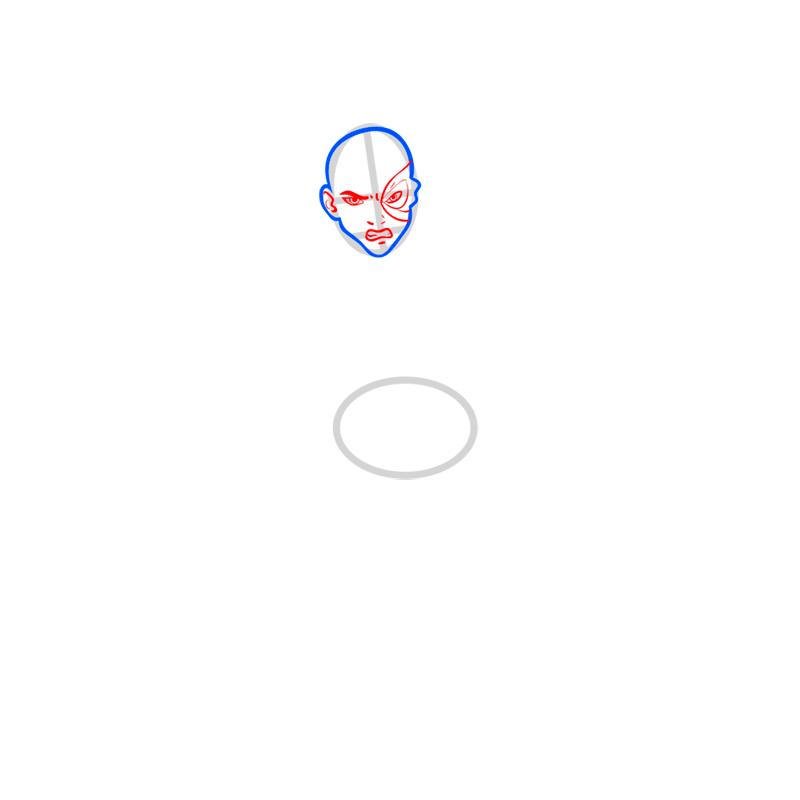 Learn easy to draw zuko step 03