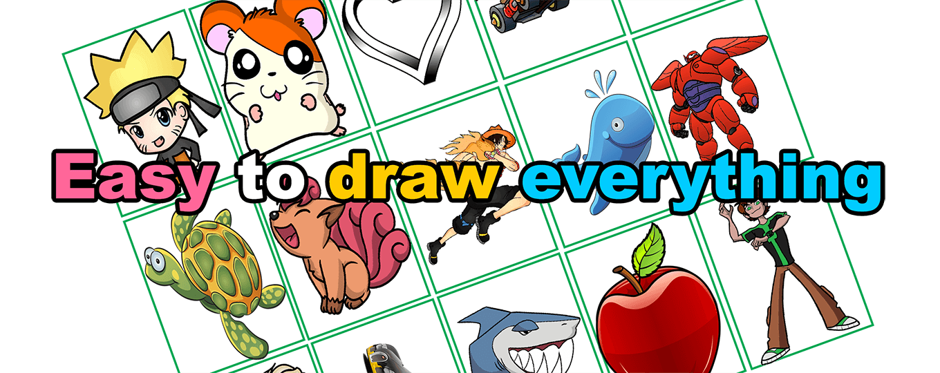 Learn easy to draw 1360x540 banner easydraw with text homepage slide