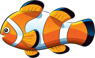 Learn easy to draw how easy to draw a clown fish 11