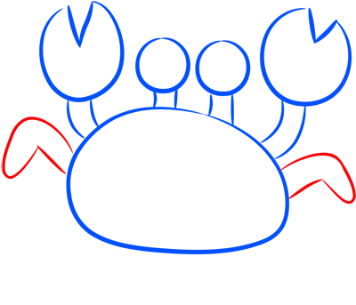 Learn easy to draw how easy to draw a crab 5