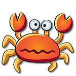 Learn easy to draw how easy to draw a crab icon
