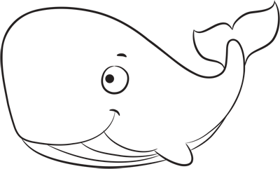 Learn easy to draw how easy to draw a whale 8