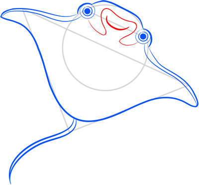 Learn easy to draw how easy to draw an electric ray 7