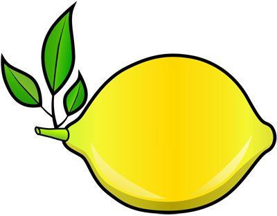 Learn easy to draw how to draw a lemon 11