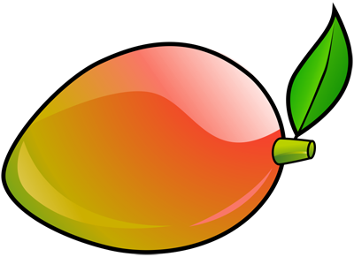 Learn easy to draw how to draw a mango 8