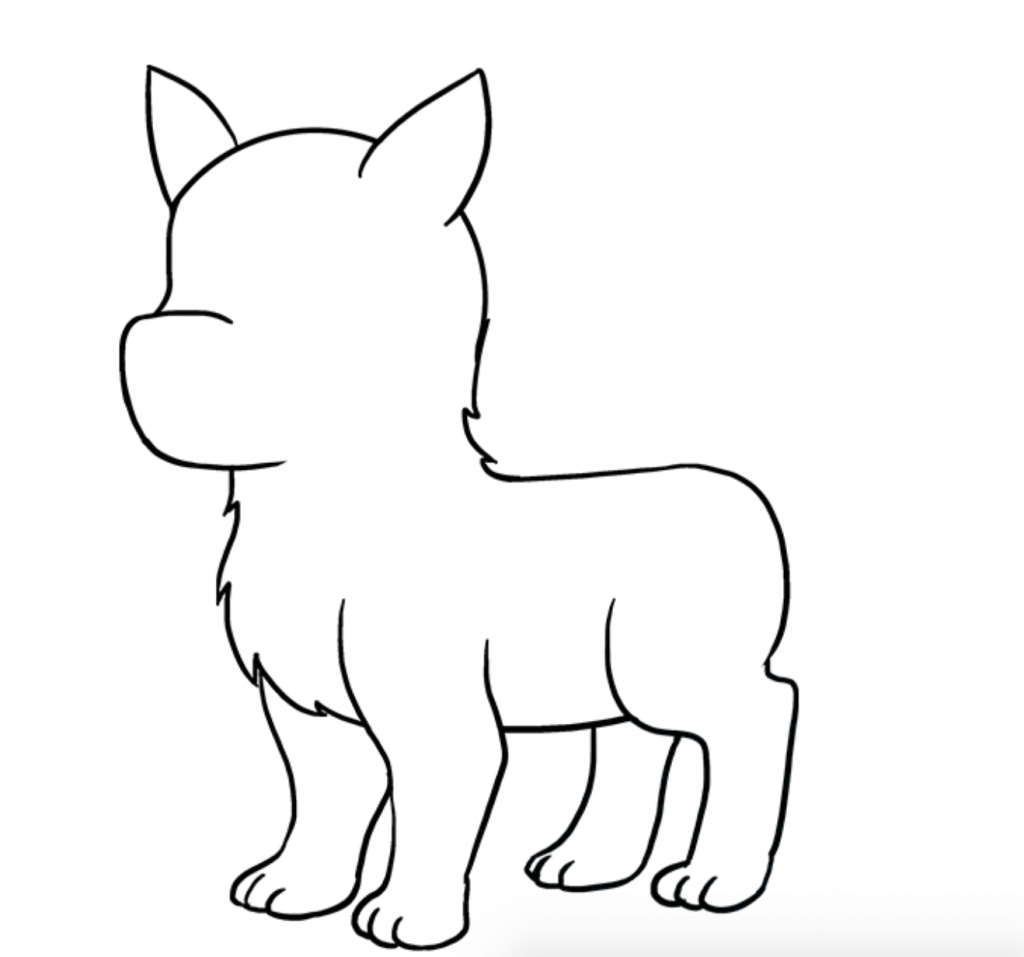 Learn easy to draw how to draw a siberian husky dog 7 1024x957