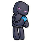 Learn easy to draw how to draw enderman minecraft chibi icon