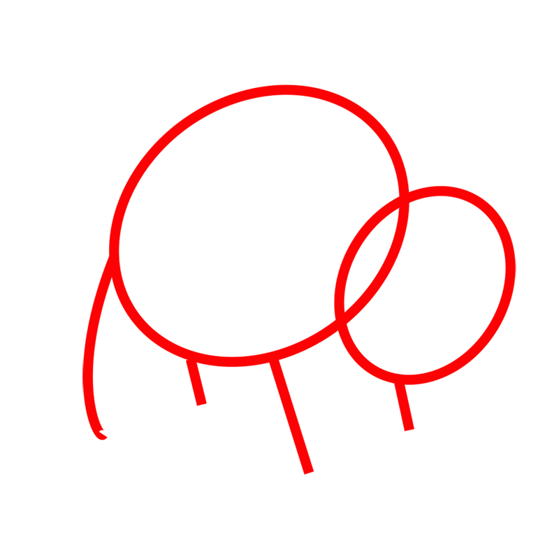 Learn easy to draw how to draw a bull drawing 1