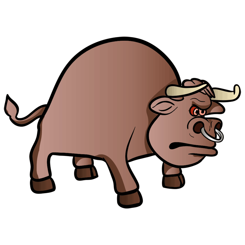 Learn easy to draw how to draw a bull drawing 9