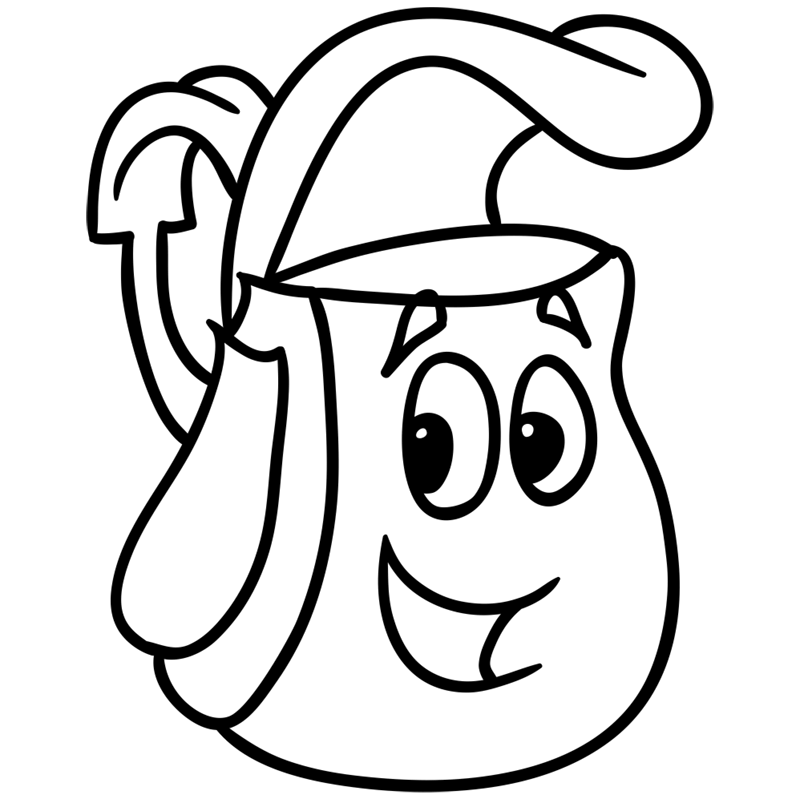 Learn easy to draw how to draw a cute backpack drawing 7