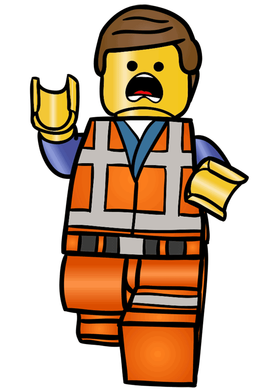 Learn easy to draw how to draw lego running drawing step 11