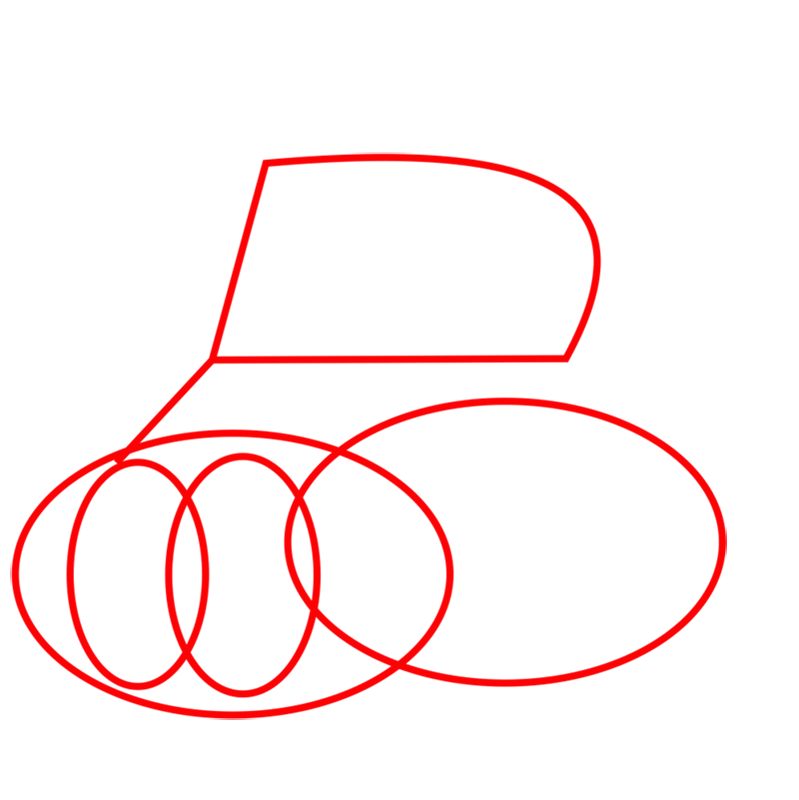 Learn easy to draw how to draw a tank drawing step 01