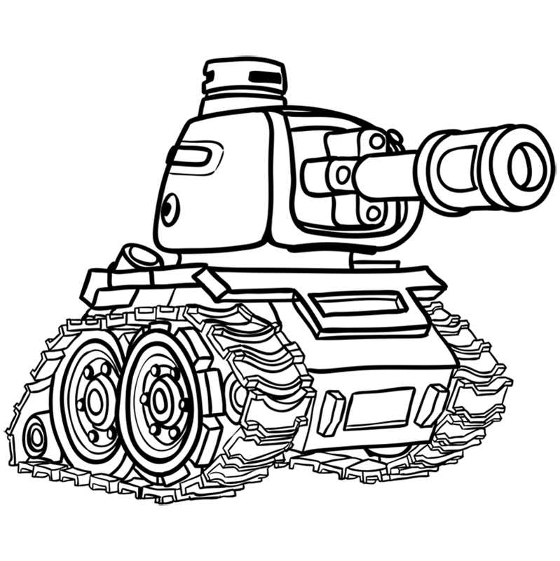 Learn easy to draw how to draw a tank drawing step 14